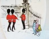 Vintage Maureen Tanner London Pride Foley Pin Dish