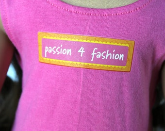 Fits like American Girl Doll Clothes - Passion for Fashion Tank Top and Shorts