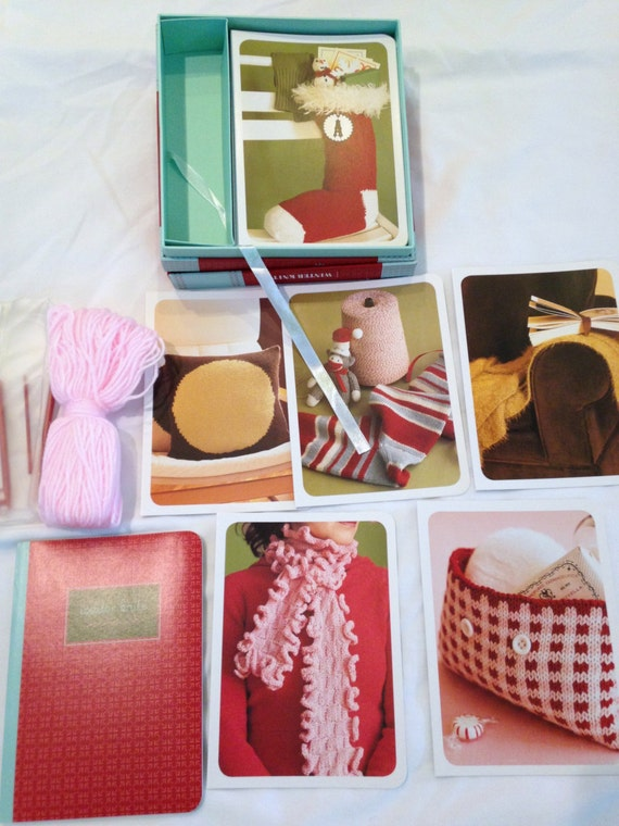 Knitting Gifts For Adults : Winter knits kit patterns never used knitting