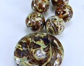 Sale  Lampwork Focal and Bead Set Year End Clearance