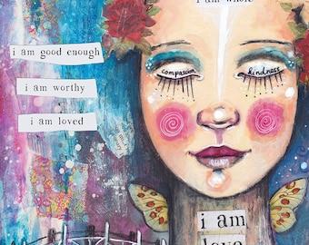 I am Love - Art Print