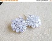 SALE 21% Off CZ Earrings Pear Cubic Zirconia BE2 Wedding Jewelry