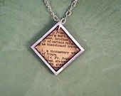 Friar Bookworm Necklace