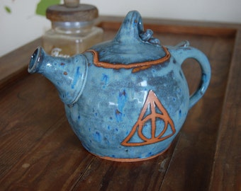 Deathly Hallows Teapot - Made to Order