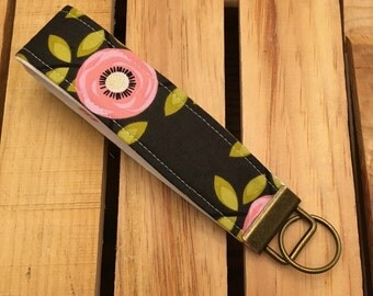Womens Key Fob Wristlet Key Chain