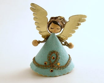 Vintage Christmas Ornament Angel Ornament