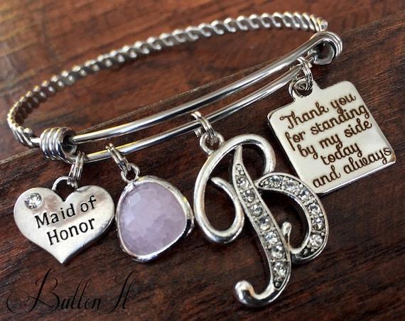 Maid Of Honor Gift Matron Of Honor BRIDESMAID Gift