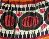 Reserved for joelleiael Only - Vintage Wrap Skirt, Long Skirt, Sarong Skirt, Tribal, Batik, Boho Skirt, Summer Skirt, Women's Skirt, 1980's