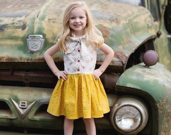 SAMPLE SALE - Effie Dress in Meadowsweet - Size 3