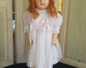 1950's Tall Girl Composition Doll Fully Clothed