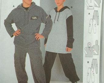 Burda Teen Jogging Suit Pattern 2649