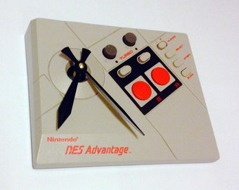Clock, Video Game, Nintendo, Video Game Controller Clock, Wall Clock, Home Decor, Geekery, Item sword #1