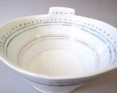 deep porcelain bowl