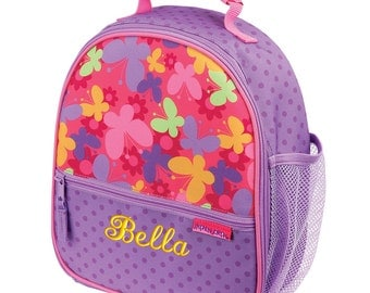 Personalized Lunch Bag Butterfly, Insulated Monogrammed