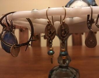 Sea goddess earrings