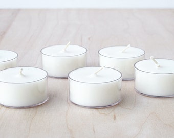 soy wax tea lights : SALE