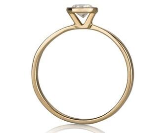 Juliette Ring, Diamond Engagement Ring