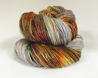 Dyed to order Hand Dyed Yarn - Metal Mind