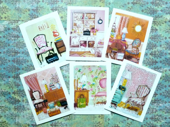 Your Choice...8 Folding Note Cards With Envelopes