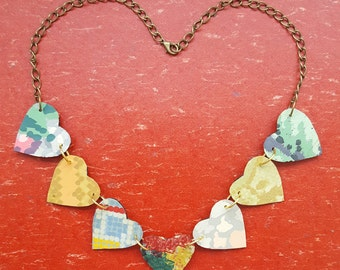 Heart Strings Lino Necklace