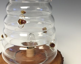 Bee Hive Lamp