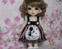 Girl Silhouette Dress for Pukifee / Lati Yellow