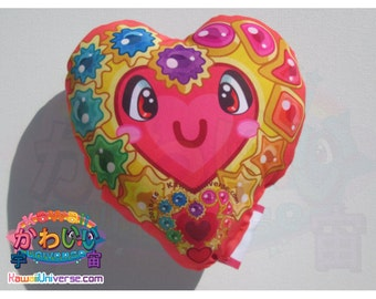 Kawaii Universe - Cute Eyes Heart U - I LOVE YOU - Handcrafted - Designer Plush Pillow