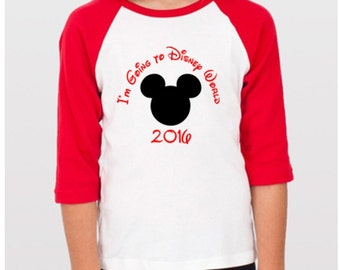 Custom My 1st Trip to Disneyworld Mouse Ears T Shirt