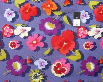Nel Whatmore PWNW035 Secret Garden Denim Cotton Fabric By Yard
