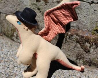 Watson the Mystery-Solving Stuffed Dragon
