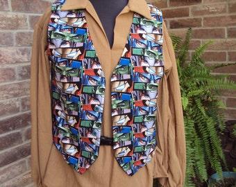 Eyes of the Avengers, A super hero vest-- Adult vest, Marvels Avengers Birthday gift, Graduation gift, Christmas gift, Halloween costume