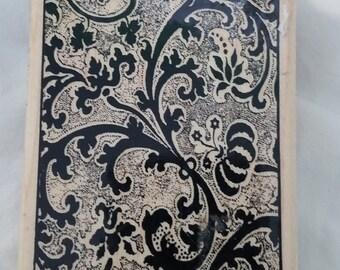 Melange background rubber stamp