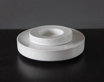 Mod White Italian Nesting Dishes