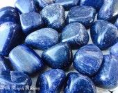 Blue Aventurine Tumbled Gemstones Set of 2
