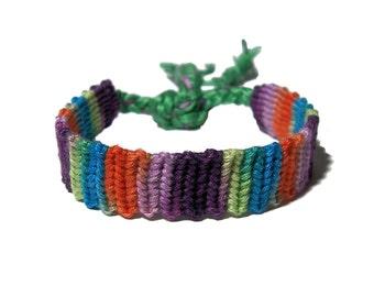 Friendship Bracelet mixed color string bracelet