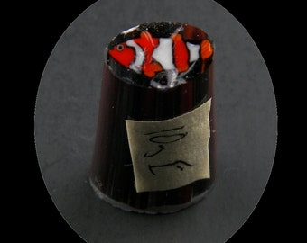 Clownfish by Greg Chase Murrine Boro Cane 10 grams - 146 E