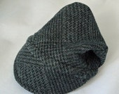 Bespoke Baby Bike Cap from Upcycled Soft Cotton Knit for Bike Baby Gift