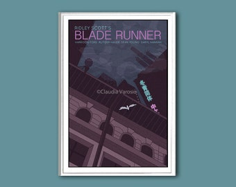 Blade Runner poster print in various sizes