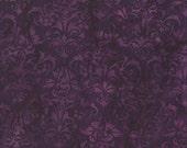 NEW - One yard - Purple Foulard Batik - 111506197