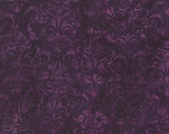 NEW - One fat quarter - Purple Foulard Batik - 111506197