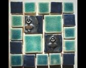 "Handmade Mini-Mosaic 4"" Tile Set"
