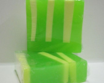 Green Tea Handmade Glycerin Soap Bar
