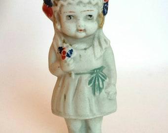 Vintage Frozen Charlotte Bride Doll