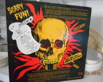 Vintage A Scary Record By Pickwick Sounds to make you Shiver! Bloodcurdling Terror Horror