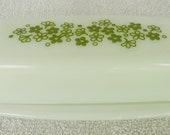 Pyrex Crazy Daisy Spring Blossom Butter Dish 72 B