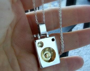 Sterling silver baffle pendant, speaker, amplifier, gold filled circles, gift, music, musicians , dj , singer, cerati pendant