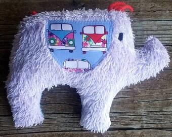 Edith the Upcycled Elephant