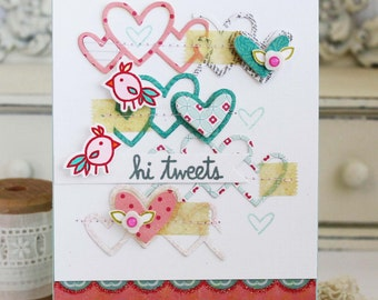Hi Tweets...Handmade Card