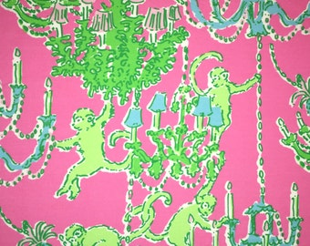 Lilly Pulitzer Monkey Trouble by Garnet Hill