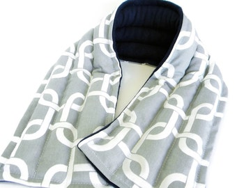 Heating Pad Microwavable, Extra Long Neck Heat Wrap, Rice Heat Pad Cold Pack, Man Gift for Him